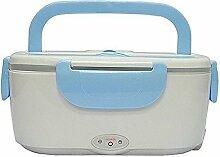 110V-230V Elektroheizung Brotdose Lunch-Box Mahlzeit Heizung Persönliche Kostwärmer für Take-Away [ Blau ]