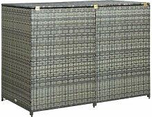 111 cm x 148 cm Mülltonnenbox Morefield aus