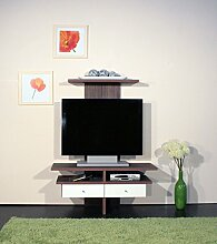 1160 TV Schrank TV Rack Hifi-Fernseh TV Regal in 2 Farben verfügbar (hochglanz-weiß)