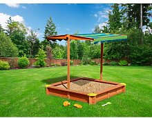 118 cm quadratischer Sandkasten Lily Freeport Park