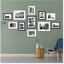 11er-Pack Fotorahmen-Collage Multi-Fotorahmen-Kit