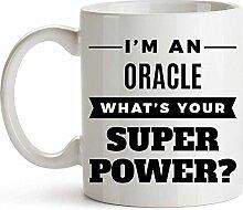 11Oz Kaffeetasse - Oracle Kaffeetasse - Oracle