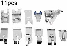 11pcs / set Multifunktionale Nähmaschine Füße