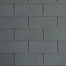[12,33 EUR/m²] Bitumenschindeln Rechteckschindeln