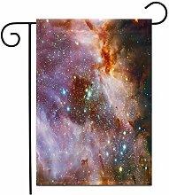 12,5 'x 18' Gartenflagge Der Omega Nebula
