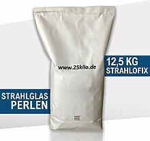 12,5 kg Strahlmittel Glasperlen Strahlglasperlen