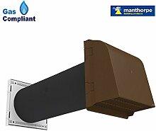 12,7cm Core Vent Hohlraum, Ventilator Anti braun, ventilatorabzug, Zugluft für gasgeräten