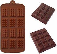 12 Auch DIY Schokolade-Chip-Form Hua Fu Buding