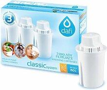 12 Dafi Classic Wasserfilter Kartuschen passend auch für Brita Classic, PearlCo Classic