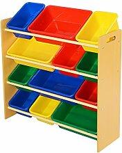 12 Kinderregal Aufbewahrungsregal Spielzeugbox