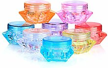 12Kunststoff Multi Farbe leer Probe Kosmetik