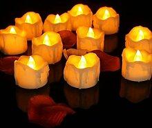12 Led Kerzen,Led Flammenlose Flackern