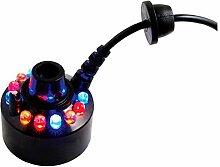 12 LEDs Nebel-Hersteller - SODIAL(R) 12 LEDs