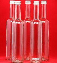 12 leere Glasflaschen 350 ml Schraubverschluss