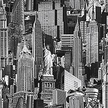 12 Rollen Neuheiten New York Wallpaper
