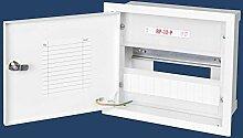 12 Sicherungen Sicherungskasten stahlverzinkt Unterputz Unterputzverteiler Stromverteiler