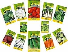 12 Sorten | Gemüsesamen Sortiment | für