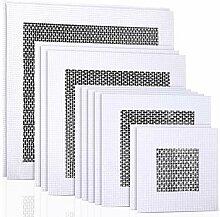 12 Stück Aluminium-Wand-flicken selbstklebend
