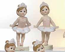 12Stück Ballerinas aus Kunstharz cm.