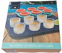 12 Stück Eisformen Schnapsbecher, servieren