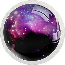 12 Stück Schrankknäufe Gillter Galaxy, runde