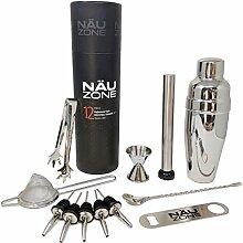 12-teiliges Cocktail-Shaker-Set – Bar-Werkzeuge