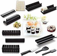 12-teiliges Sushi-Set zum Selbermachen mit 4