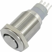 12V Greem Lampe Self Locking SPDT Kontakt
