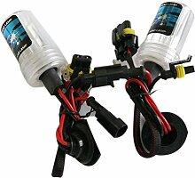 12V Lampe Xenon Kit H7LED Nebel DRL Kopf Schwanz drehen Licht HID Double 75W & K