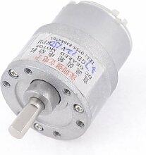 12VDC 150RPM Geschwindigkeit reduzierende 6mm Schaft Ø Elektrische Geared Motor