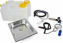 12 Volt Wasserversorgung Miniküche KüchenBlock
