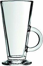 12 x Irish Coffee Glas, Kaffeeglas mit Henkel,