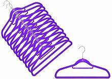 12 x Raumspar- und Anti-Rutsch Magic Kleiderbügel