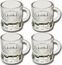 12 x Schnapsgläser Schnapsglas Glas 2 cl