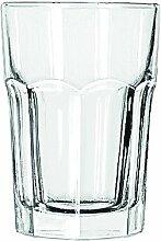 12 x Wasserglas, Trinkglas, Glas, transparent, 35