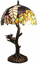 12 Zoll Tiffany Stil Lampen Pastoralen Blätter