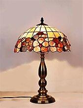 12-Zoll-Tiffany-Tischlampe Bunte Glas-Tischlampe