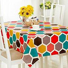 120* 120cm orange gelb geometrischen Moderne