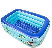 120/130150cm Aufblasbares Schwimmbad Quadratisch
