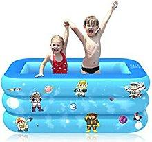 120/130cm Aufblasbares Schwimmbad Quadratisch