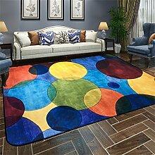 120 * 180 cm farbkreis teppich wohnzimmer Europäischen moderne schlafzimmersofa zimmer bett hause rechteckigen teppich