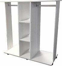 120,5 cm Kleiderorganisations-System