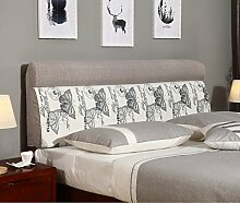 120 * 60cm Bett weichen Paket Bedside Kissen Doppelbett weichen Paket Bedside Rückenlehne Kissen Bett Abdeckung ( Farbe : # 3 )