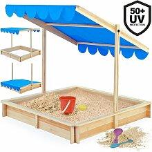 120 cm quadratischer Sandkasten Goldenray Freeport