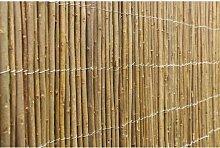 120 cm x 400 cm Gartenzaun Thibodeau aus