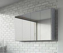 120 cm x 72 cm Spiegelschrank Clitherall