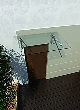 120 x 90 cm Glasvordach Vordach Türvordach