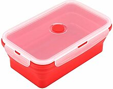 1200 ml Faltbare Silikon Bento Box, Faltbare