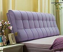 120cm Bett weiche Tasche Doppelbett Kissen europäischen - Stil weichen Kissen Rückenlehne Bett Haube ( Farbe : # 3 )