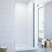 120cm Nischentür Duschtür Falttür Duschwand